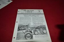 International Harvester Gang Lawn Mower Cub Tractor Dealer's Brochure YABE7