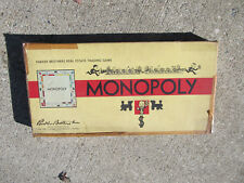 VINTAGE Made in the USA Very Rare Mid Century Parker Brothers Monopoly Game