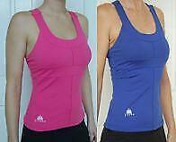 JIVANA* Designer Gym Fitness Yoga Sports Top Ladies womens M &L Blue * Hot Pink*