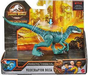 Jurassic World Camp Cretaceous Velociraptor Savage Strike Dinosaur