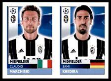 Topps CL 2016-17 JUV12/JUV13 Sami Khedira/Claudio Marchisio Juventus