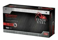 Venom Steel Nitrile 2 Layer Rip Resistant Gloves (One Size Fits Most) Box of 100