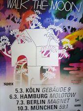 * Walk the Moon * Orginal  Concert Poster DIN A 1
