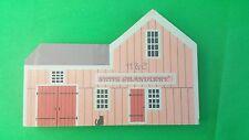 Cat's Meow H & E Ships Chandlery Faline '87 Wooden Shelf Sitter