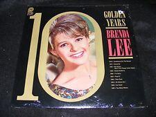 STILL SEALED STEREO  LP 10 Golden Years BRENDA LEE Original Teen Pop Essential