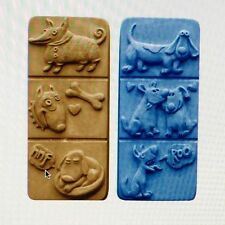 Breakaway Dogs - Soap Molds/Moulds - Milky Way x 4 cavities