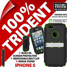 NUOVO Trident Kraken AMS PROTETTIVA Heavy Duty Hard Case Resistente per Apple iPhone 5