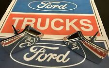 75-80 FORD F100 PARTS CHROME DOOR INTERIOR HANDLE LEFT + RIGHT NEW F250 F350