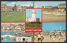 Norfolk Postcard - Views of Hunstanton  A6585