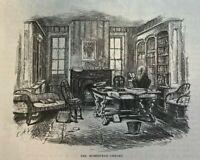 1878 Author William Cullen Bryant Cedarmere illustrated
