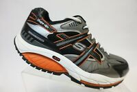SKECHERS Shape-Ups Radius Grey/Orange Sz 7 M Men Athletic Shoes