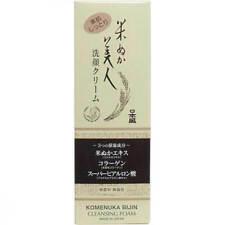 Nippon Mori Rice Beauty Bran Face Wash Cream 100g