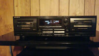 Sony TC-WR565 Stereo Cassette Deck.  {{{REFURBISHED}}}