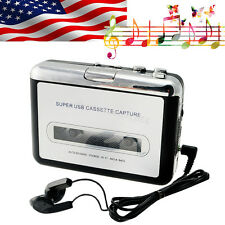US SHIP Tape to PC Ipod CD Cassette-to-MP3 Converter Capture Audio Music Player