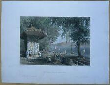 1838 Bartlett print ISTENIA ISTINYE, SARIYER DISCTRICT, ISTANBUL, TURKEY (#60)