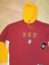 Florida State FSU Seminoles Hoodie Long Sleeve Starter Garnet & Gold Men L NWT