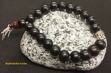 Buddha Tibetan Black Wood 10 mm Beads Sandalwood Meditation Prayer men Bracelet