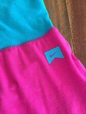 Nike Yoga Pant engineered for World class athletes Pink Turquoise