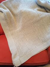 Hand made wool blanket throw for bed/armchair/sofa, Unique, Fairtrade