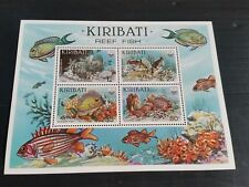 KIRIBATI 1985 SG MS236W REEF FISH WMK READING UPWARDS MNH