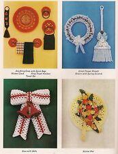 Towel Rings & Wall Decor Patterns Craft Book:#Pd1151 Macrame Scrapbook