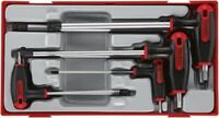 7 Piece Set Teng Tray T-Handle Hex Driver Set 7-Pce Tool TTTHEX7   FREE NEXT DAY