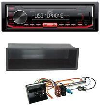 JVC 1DIN AUX USB MP3 Autoradio für Peugeot 207 307 Expert Partner