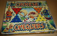 Vintage Chinese Chequers Board Game by J & L Randal (Merit) - 1960's