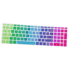 Laptop Keyboard Cover Protector Skin Film For HP 15.6 Inch BF Rainbow Color