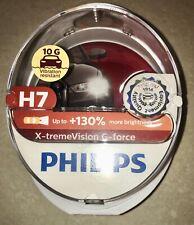 Philips H7 Xtreme Vision G Force actualización Bombillas Twin H7 X-treme +130% más de luz
