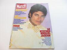 MICHAEL JACKSON French Paris Match magazine January 27 1984 Isis Peyrade
