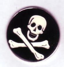 Totenkopf,Skull,Jolly Rogers,Pin,St.Pauli,rund