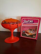 1980 Mattel Barbie Dream Furniture Pool Collection: Patio Barbecue Set Grill