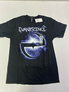 EVANESCENCE HOT TOPIC Galaxy logo T-SHIRT NEW!!!  OFFICIAL MERCHANT