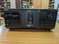 Sony CDP-CX210 200 Disc CD Changer CD Player *Tested*