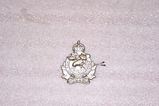 WWII 2 Canadian Algonquin Regiment Cap Badge