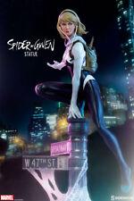 """Sideshow  Marvel Spider-Verse Spider-Gwen Mark Brooks Artist Series 16"""" Statue"""