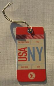 Louis Vuitton Cruise 2020 New York Taschenanhänger NEU (A5.2)