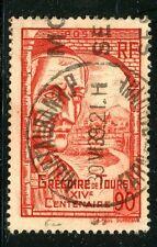 STAMP / TIMBRE FRANCE OBLITERE N° 442 / CELEBRITE / GREGOIRE DE TOURS