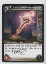 2009 Booster Pack Base #187 Vengeful Gladiator's Piercing Touch Gaming Card 1i3