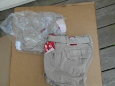 2 Brown Pair Of Unionbay Young Mens Cargo Pants Size 30 - 30