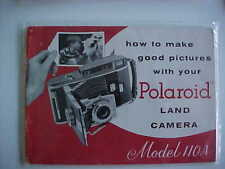 Polaroid 110A instructions manual