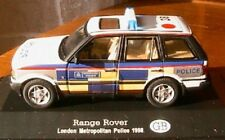 RANGE ROVER LONDON METROPOLITAN POLICE 1998 1/43 UK GB