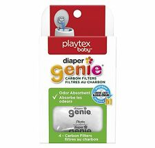 Playtex Diaper Genie Odour Absorbant Carbon Filters Pack of 4 Filters