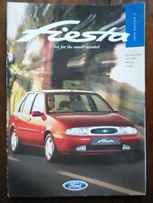 FORD FIESTA Range 1996 UK Mkt Prestige Sales Brochure - Encore LX Si Ghia