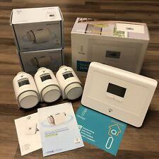 Innogy RWE Smart Home Zentrale 3 Heizkörperthermostate Thermostat Heizung