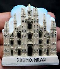 3D Fridge Magnet DUOMO MILAN ITALY Cathedral Church Souvenir Refrigerator Magnet