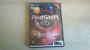 REDSHIFT 4 : The Ultimate Exploration of the Universe - PC cd rom Software - VGC