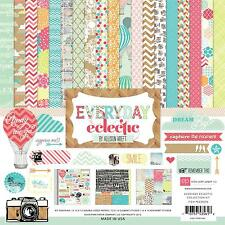 """Echo Park ~ """" EVERYDAY ECLECTIC """" 12 x 12 Collection Kit ~ NEW ~ Spring 2012"""