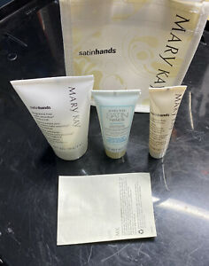 Mary Kay White Tea And Citrus Satin Hands Pampering Set Deluxe MINI Travel Size